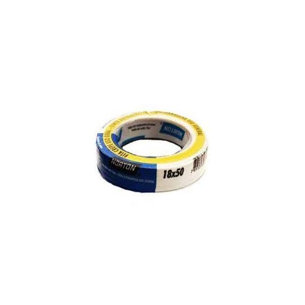 Fita Crepe Sleeve Uso Geral 1,8x5,0cm Branco Norton