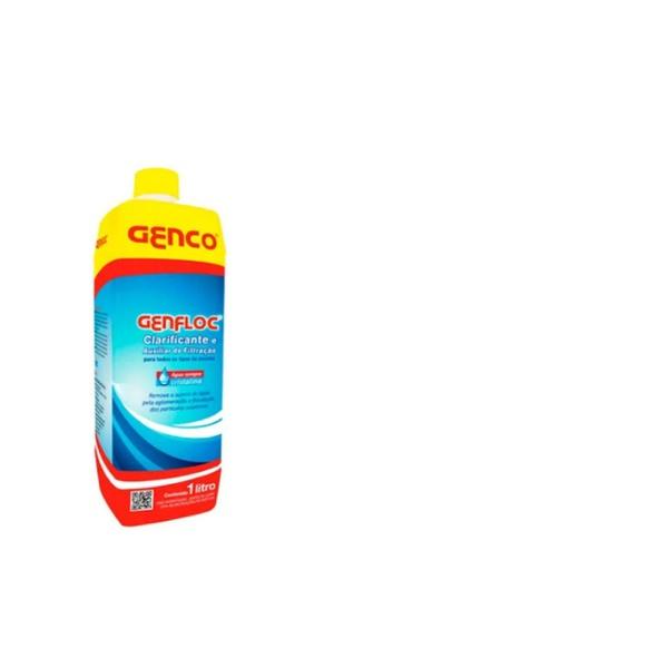 GENFLOC Clarificante e Auxiliar de Filtração GENCO 1L