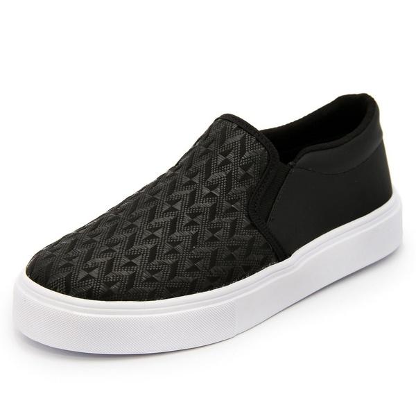 Sapatênis Feminino Top Franca Shoes Iate Preto