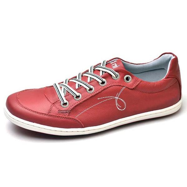 Sapatênis Masculino Top Franca Shoes Vermelho