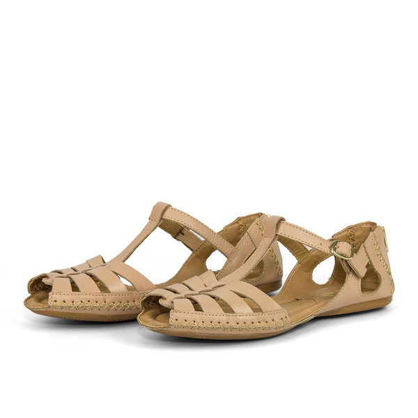 Sandalia Sapatilha Feminino Top Franca Shoes Moleca Nude