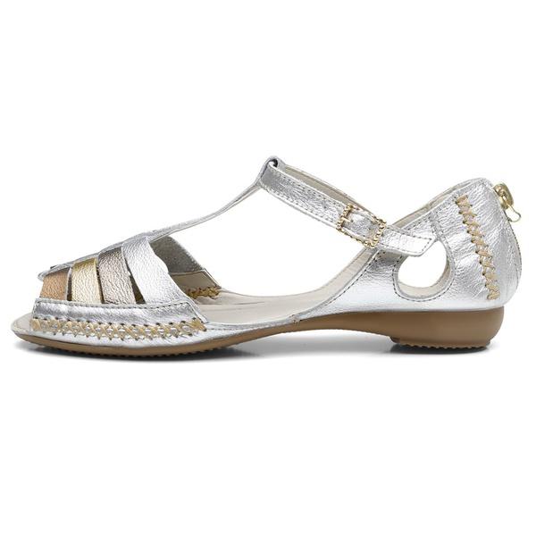 Sandalia Sapatilha Feminino Top Franca Shoes Moleca Prata