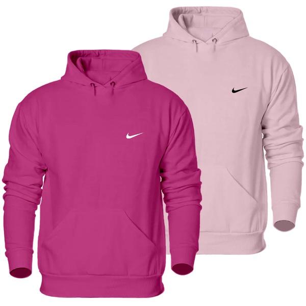 Kit 2 Blusas Moletom Ganguru Nike Classic