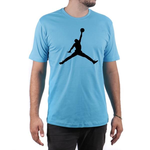 Camiseta Algodão Jordan Azul