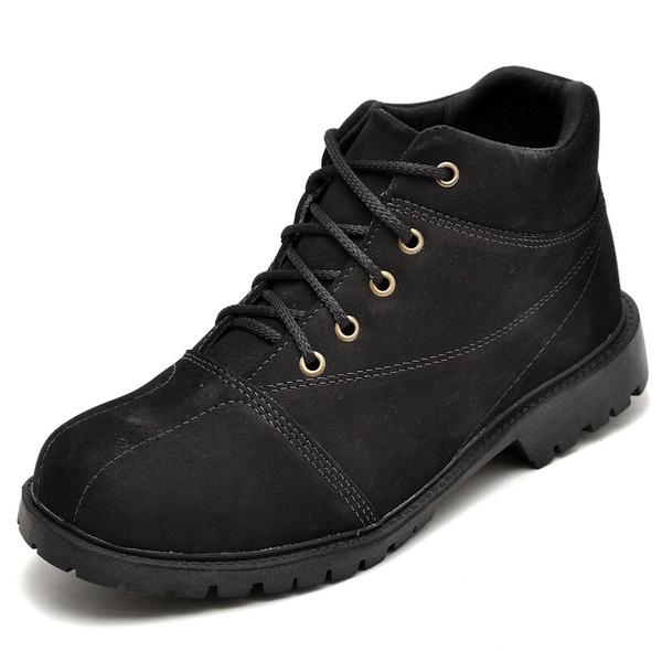 Bota Coturno Adventure Masculino Top Franca Shoes Preto