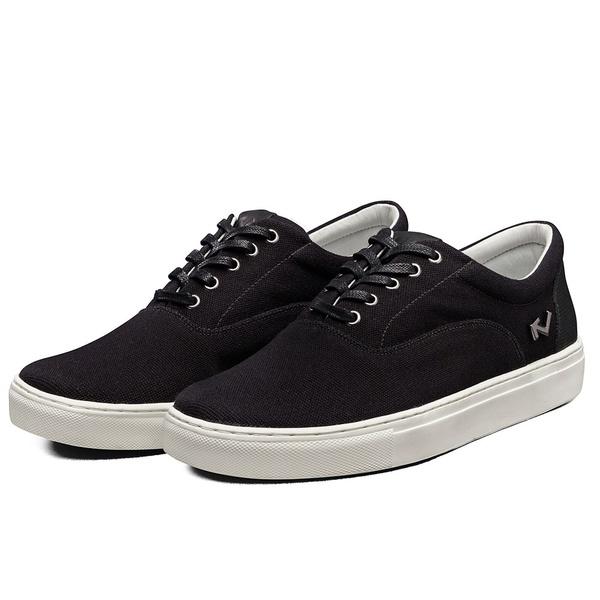Tênis Sapatênis Lomen Sneakers Boaz Preto