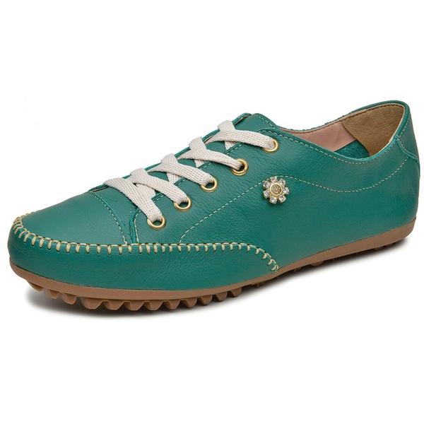 Mocatênis Feminino Top Franca Shoes Verde