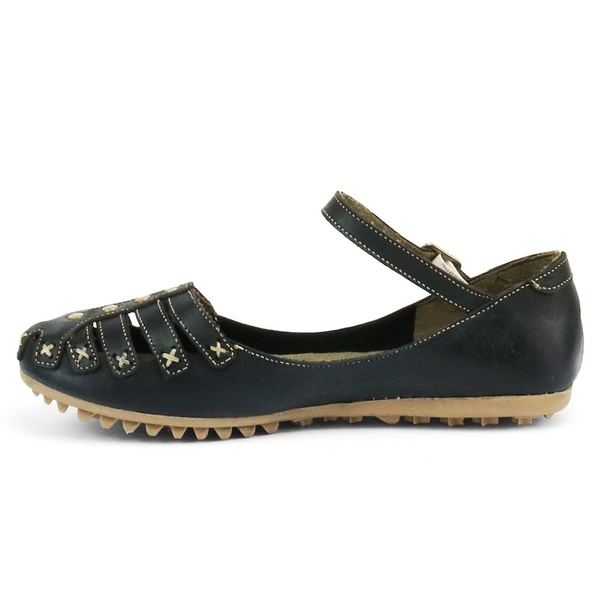 Sandália Sapatilha Feminina Top Franca Shoes Preto