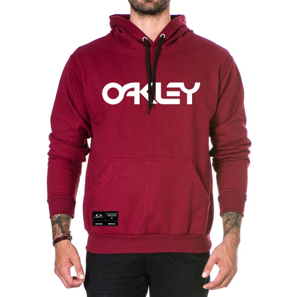 Moletom Masculino Oakley - Bordo