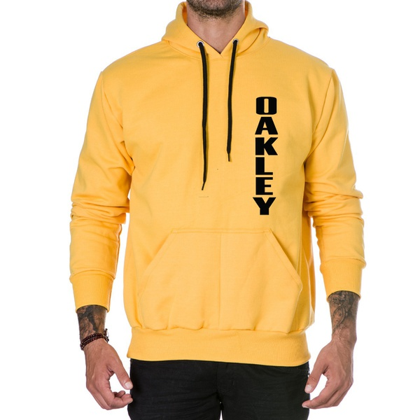 Moletom Masculino Oakley - Amarelo