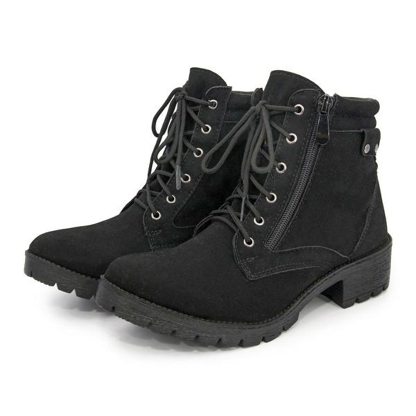Bota Coturno Feminino Top Franca Shoes Preto