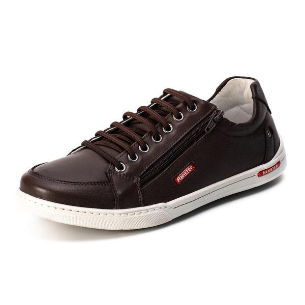 Sapatênis Casual Confort Top Franca Shoes Café