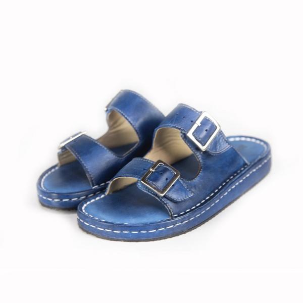 Sandália Chinelo Birken Conforto Anatomico Ortopédica Azul