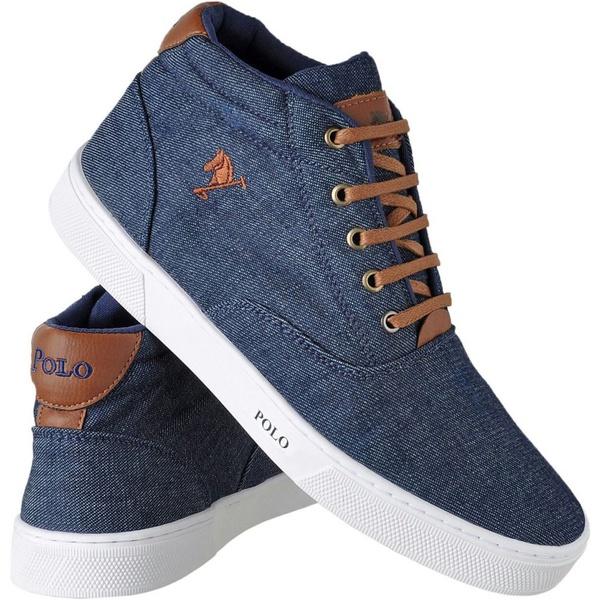 Sapatênis Cano Alto Polo Joy Jeans