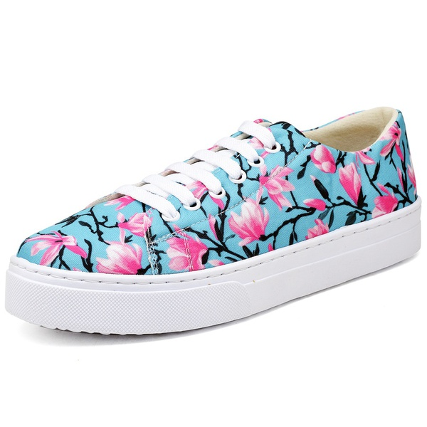 Tênis Sapatenis Top Franca Shoes Floral