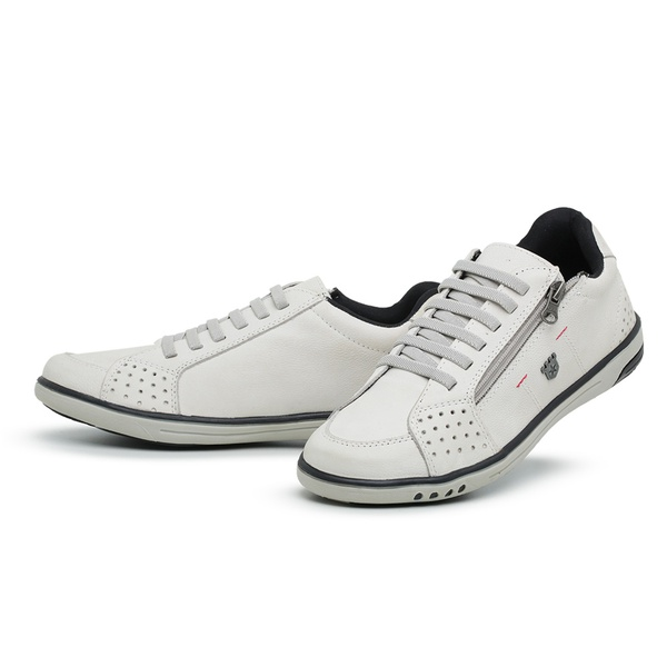 Sapatênis Masculino Casual Top Franca Shoes Branco