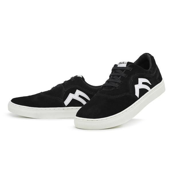 Sapatênis Masculino Casual Skatista Top Franca Shoes Preto