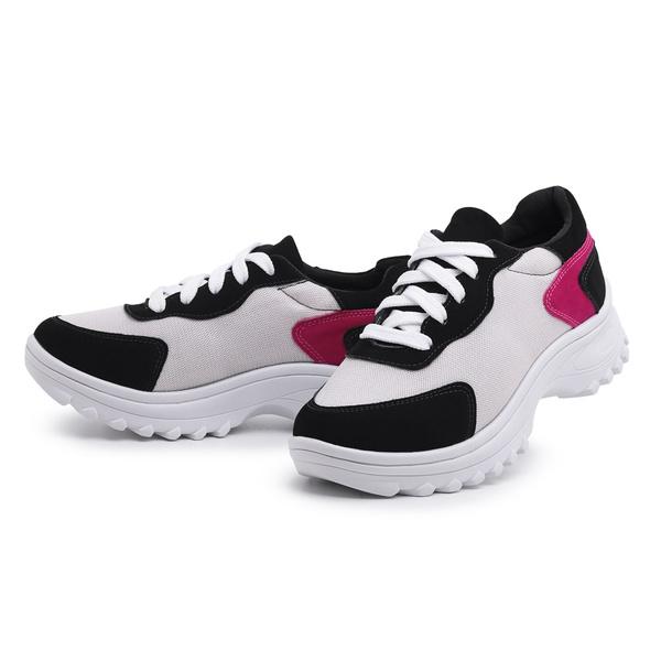 Tênis Feminino Chunky Casual Top Franca Shoes Branco