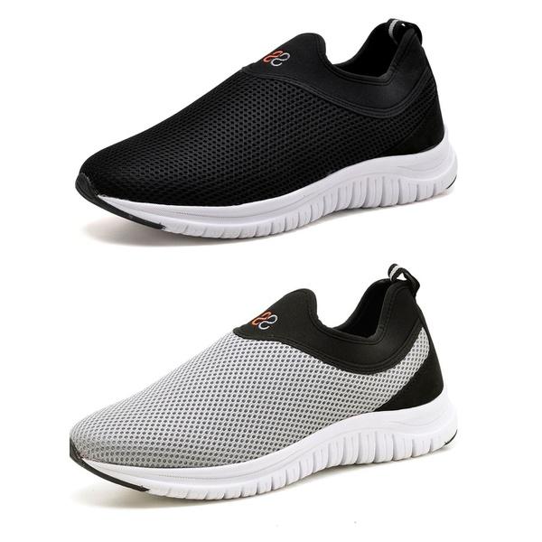 Kit 2 Tênis Masculino Esporte Fit Snap Shoes Preto / Cinza