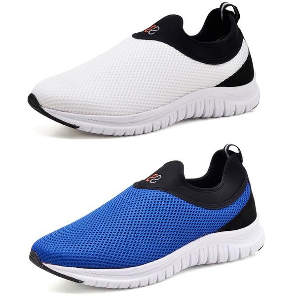 Kit 2 Tênis Masculino Esporte Fit Snap Shoes Branco / Azul