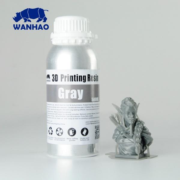 Resina Fotopolimerizável para Impressora 3D com tecnologia DLP - Tipo 405Nm - Cinza
