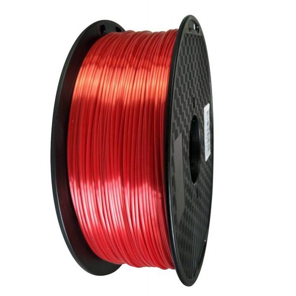 Filamento PLA Silk 1.75mm 1kg - Vermelho