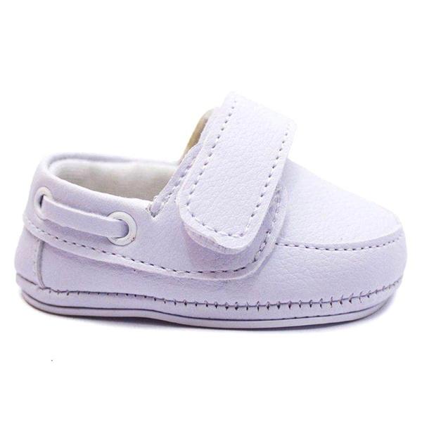 Sapato Infantil Branco Bebê