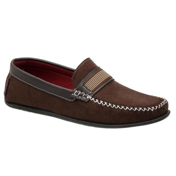 Sapato Mocassim Masculino Marrom Torani