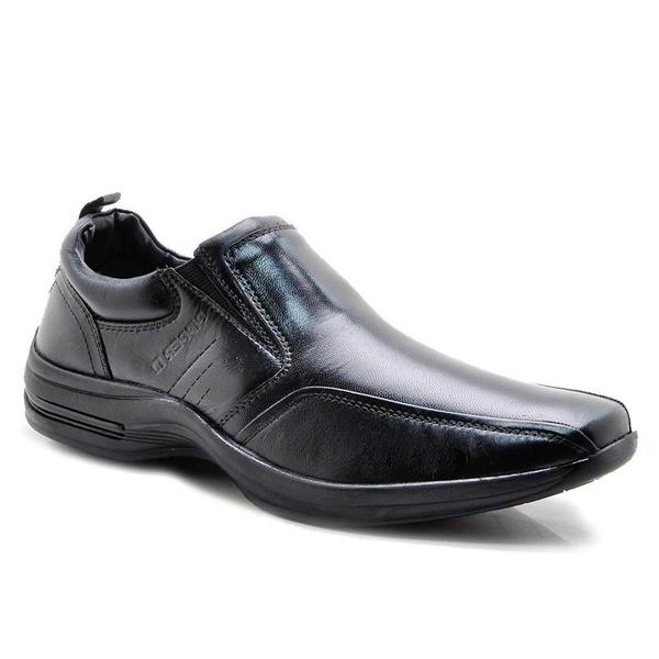 Sapato Social Masculino Couro Pelica Preto Pipper