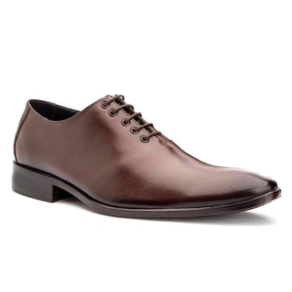 Sapato Social Wholecut Premium Marrom Torani