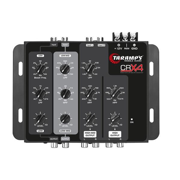 Processador Crossover Taramps Crx4 4 Vias