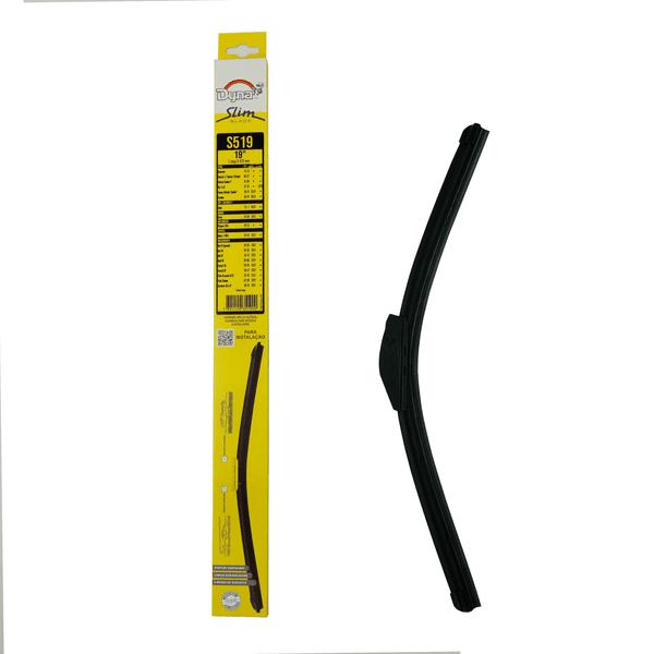 Palheta Limpador Parabrisa Slim Blade 19 Polegadas Dyna-S519 (Confira Compatibilidade nos Detalhes do Produto)
