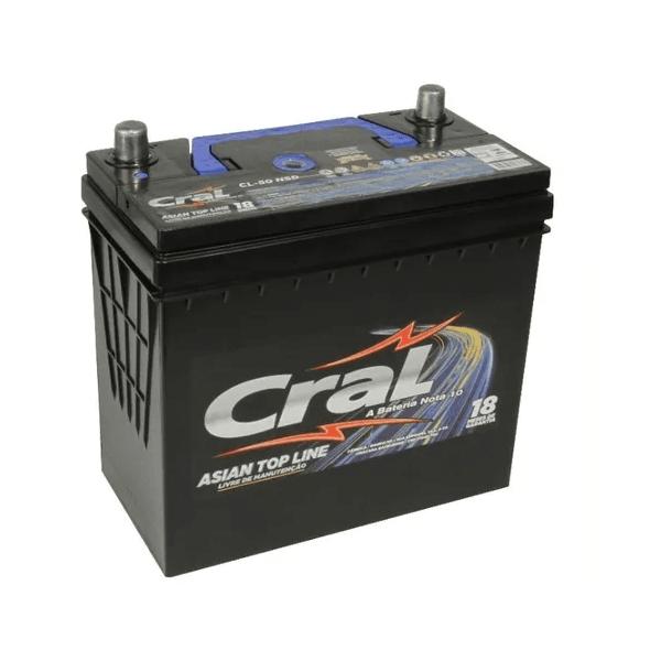 Bateria Automotiva Cral Top Line 50Ah Selada (Polo Positivo Direito)