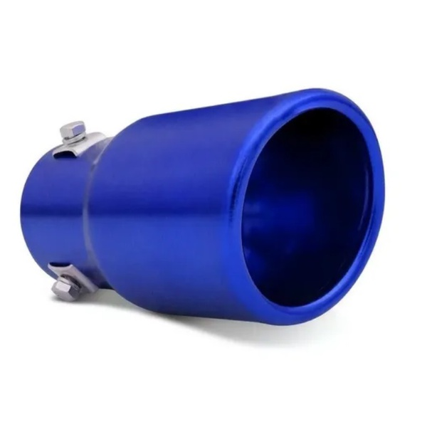 Ponteira Escapamento SW Sport (Azul)