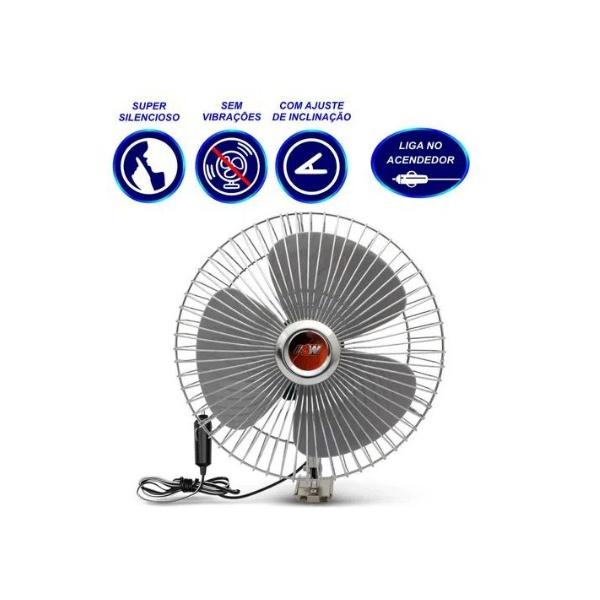 Mini ventilador 8 Polegada 12v