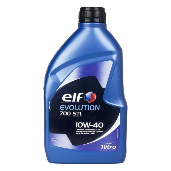 Óleo de Motor Elf Evolution 700STI 10W 40 API SN Semissintético 1Lt.