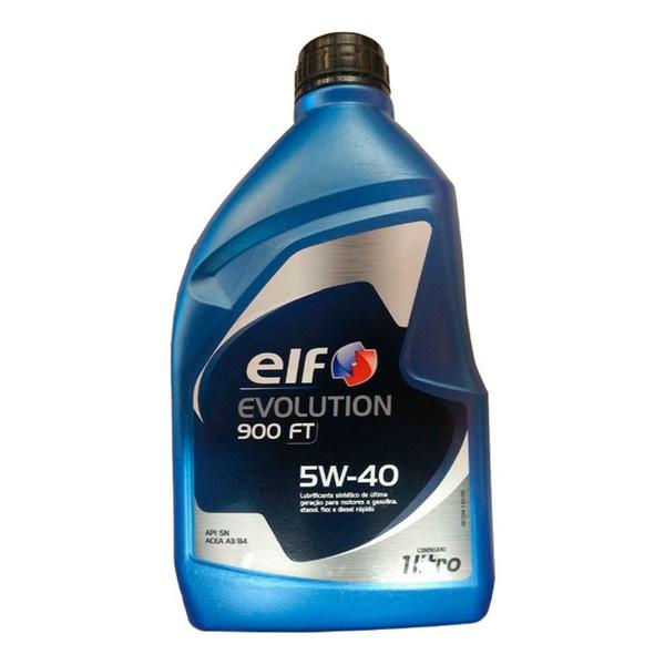 Óleo de Motor Elf Evolution 900FT 5W 40 API SN Sintético 1Lt.