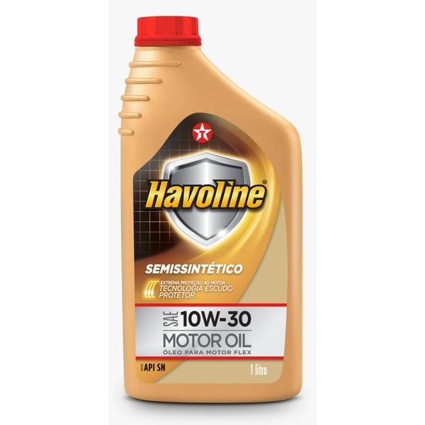 Óleo de Motor Havoline 10W 30 API SN Semissintético 1Lt.