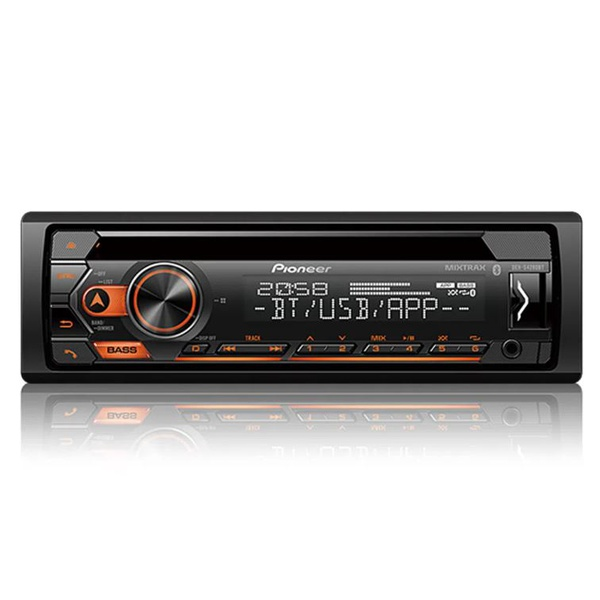 Cd Player Pioneer DEHS4280BT Mixtrax C/Controle AUX/ USB/ Bluetooth