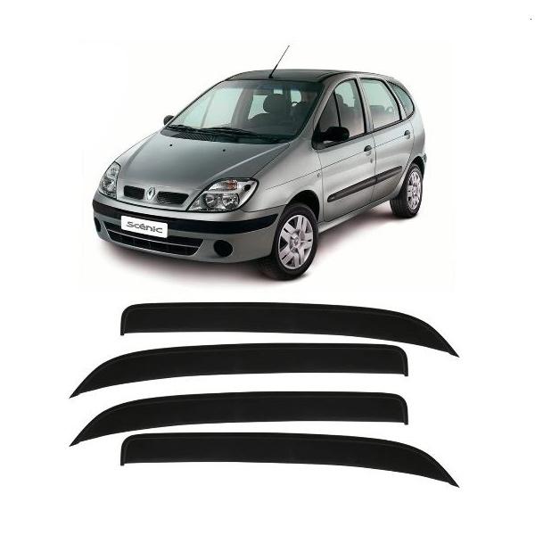 Jogo Calhas de Chuva Renault Scenic 1998 a 2010 Fumê