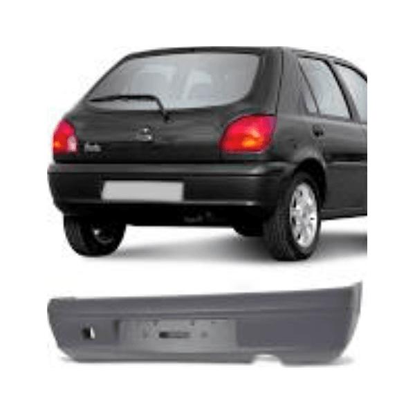 Parachoque Traseiro Fiesta Hatch 2000 até 2002 Primer
