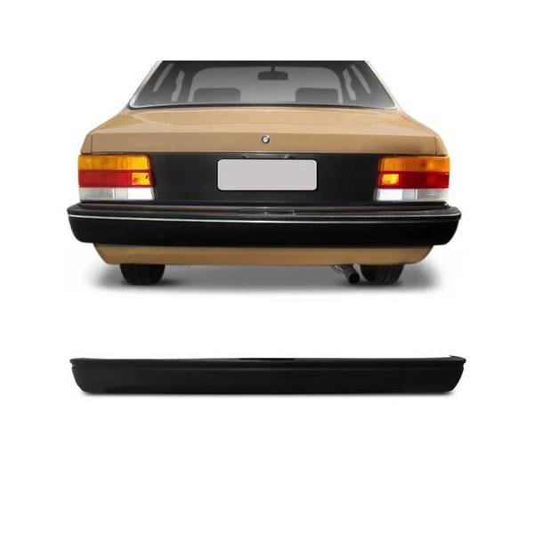 Parachoque Traseiro Chevette 1987 Preto