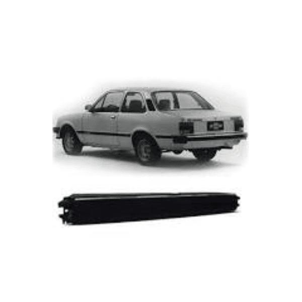 Parachoque Traseiro Monza até 1990 Preto