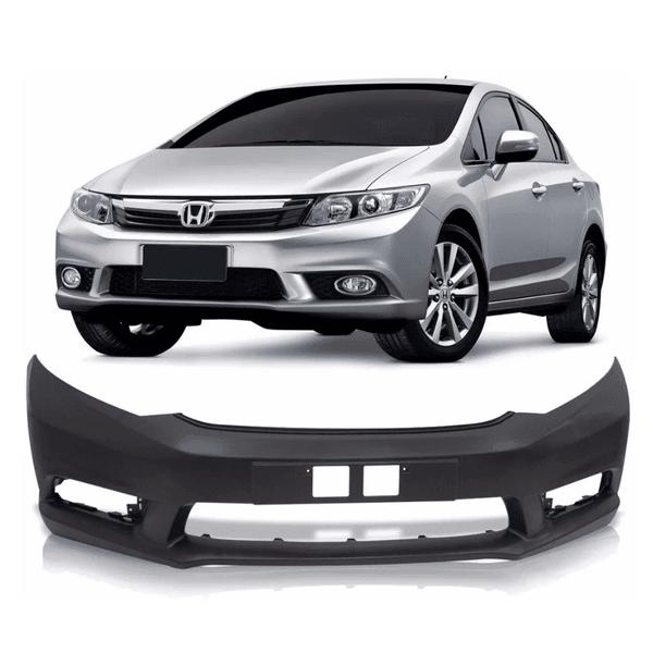 Parachoque Dianteiro Honda Civic New 2012 a 2016 Preto Liso (DTS)