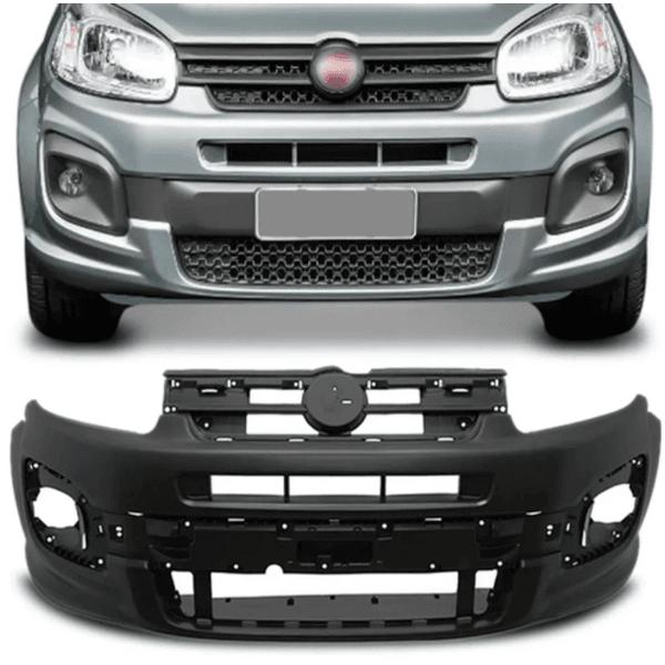 Parachoque Dianteiro Fiat Uno 2016 a 2021 Modelo Drive Preto Liso (DTS)