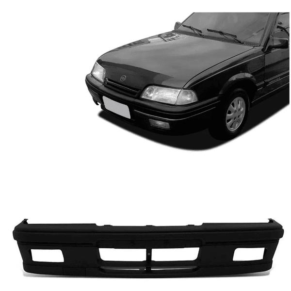 Para-choque Dianteiro Monza GLS 1991 á 1996 Com Furo de Milha Com Alma Plástico Preto