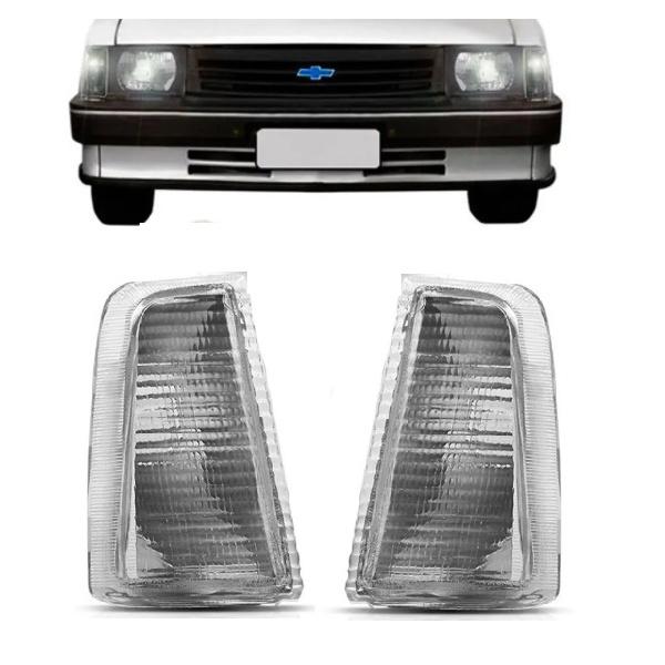 Lanterna Dianteira Chevette/Marajó/Chevy 1983 a 1993 Cristal Encaixe Arteb