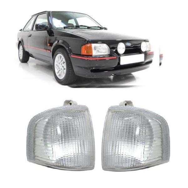 Lanterna Dianteira Escort/Verona/Apollo 1987 a 1992 Hobby até 1996 Cristal