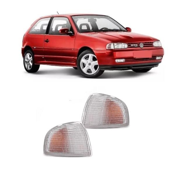Lanterna Dianteira Gol/Parati/Saveiro 1995 a 1999 Cristal Modelo Arteb