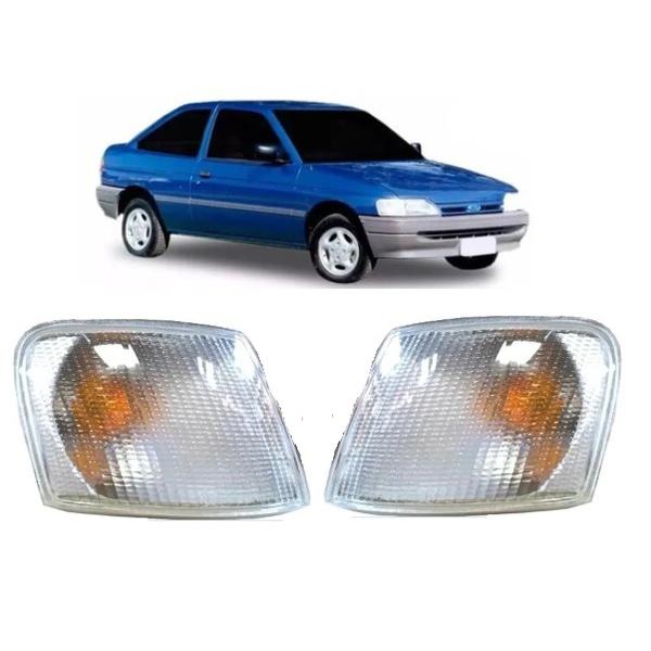Lanterna Dianteira Escort 1993 a 1996 Cristal